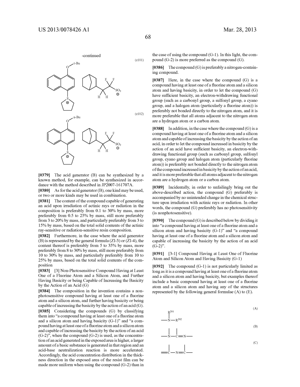 ACTINIC RAY-SENSITIVE OR RADIATION-SENSITIVE RESIN COMPOSITION, AND RESIST     FILM, PATTERN FORMING METHOD, METHOD FOR PREPARING ELECTRONIC DEVICE, AND     ELECTRONIC DEVICE, EACH USING THE SAME - diagram, schematic, and image 69