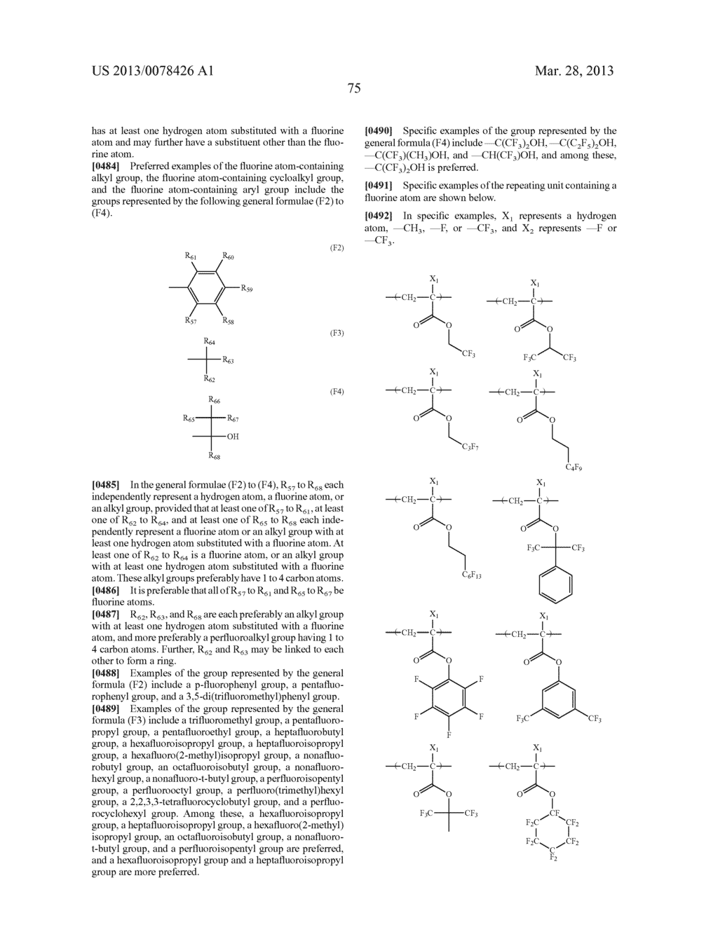 ACTINIC RAY-SENSITIVE OR RADIATION-SENSITIVE RESIN COMPOSITION, AND RESIST     FILM, PATTERN FORMING METHOD, METHOD FOR PREPARING ELECTRONIC DEVICE, AND     ELECTRONIC DEVICE, EACH USING THE SAME - diagram, schematic, and image 76