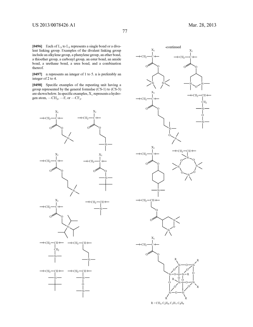 ACTINIC RAY-SENSITIVE OR RADIATION-SENSITIVE RESIN COMPOSITION, AND RESIST     FILM, PATTERN FORMING METHOD, METHOD FOR PREPARING ELECTRONIC DEVICE, AND     ELECTRONIC DEVICE, EACH USING THE SAME - diagram, schematic, and image 78