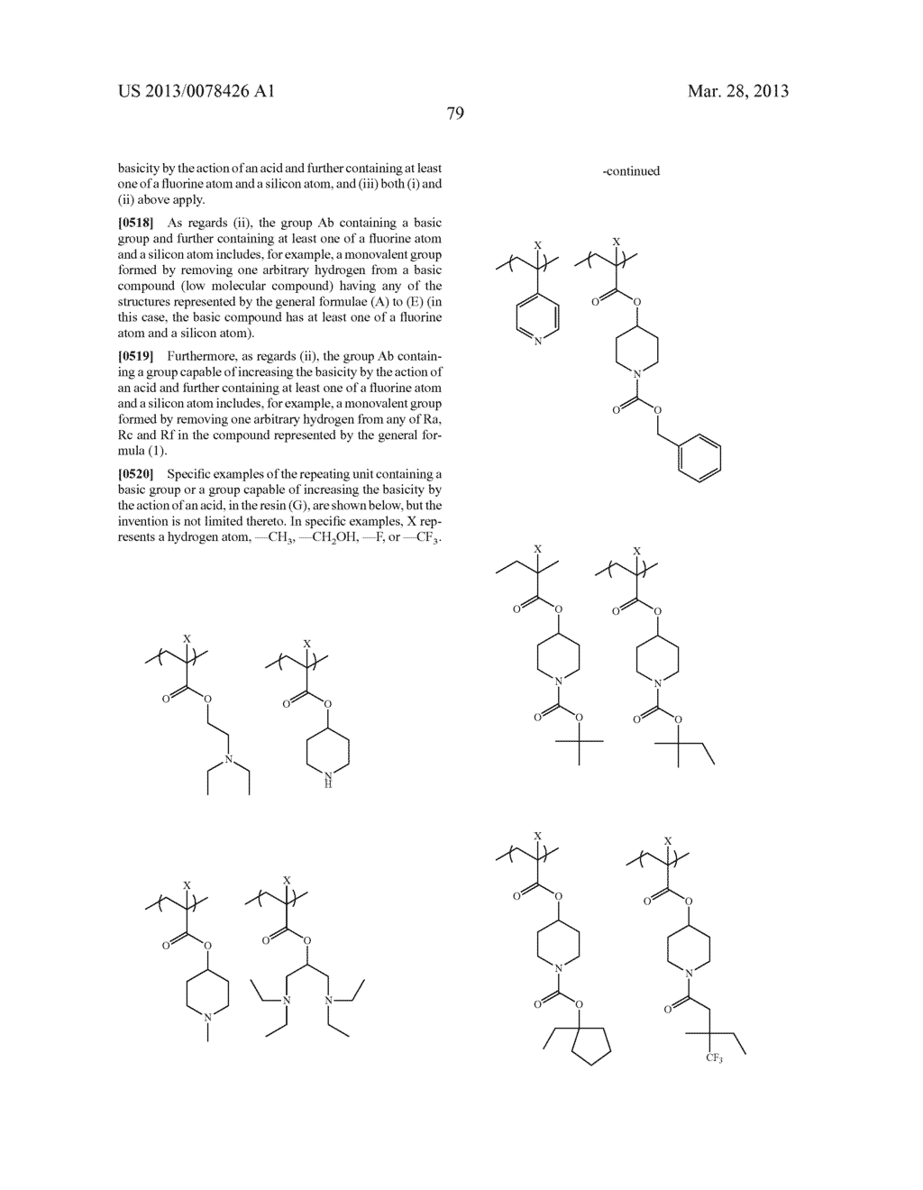 ACTINIC RAY-SENSITIVE OR RADIATION-SENSITIVE RESIN COMPOSITION, AND RESIST     FILM, PATTERN FORMING METHOD, METHOD FOR PREPARING ELECTRONIC DEVICE, AND     ELECTRONIC DEVICE, EACH USING THE SAME - diagram, schematic, and image 80