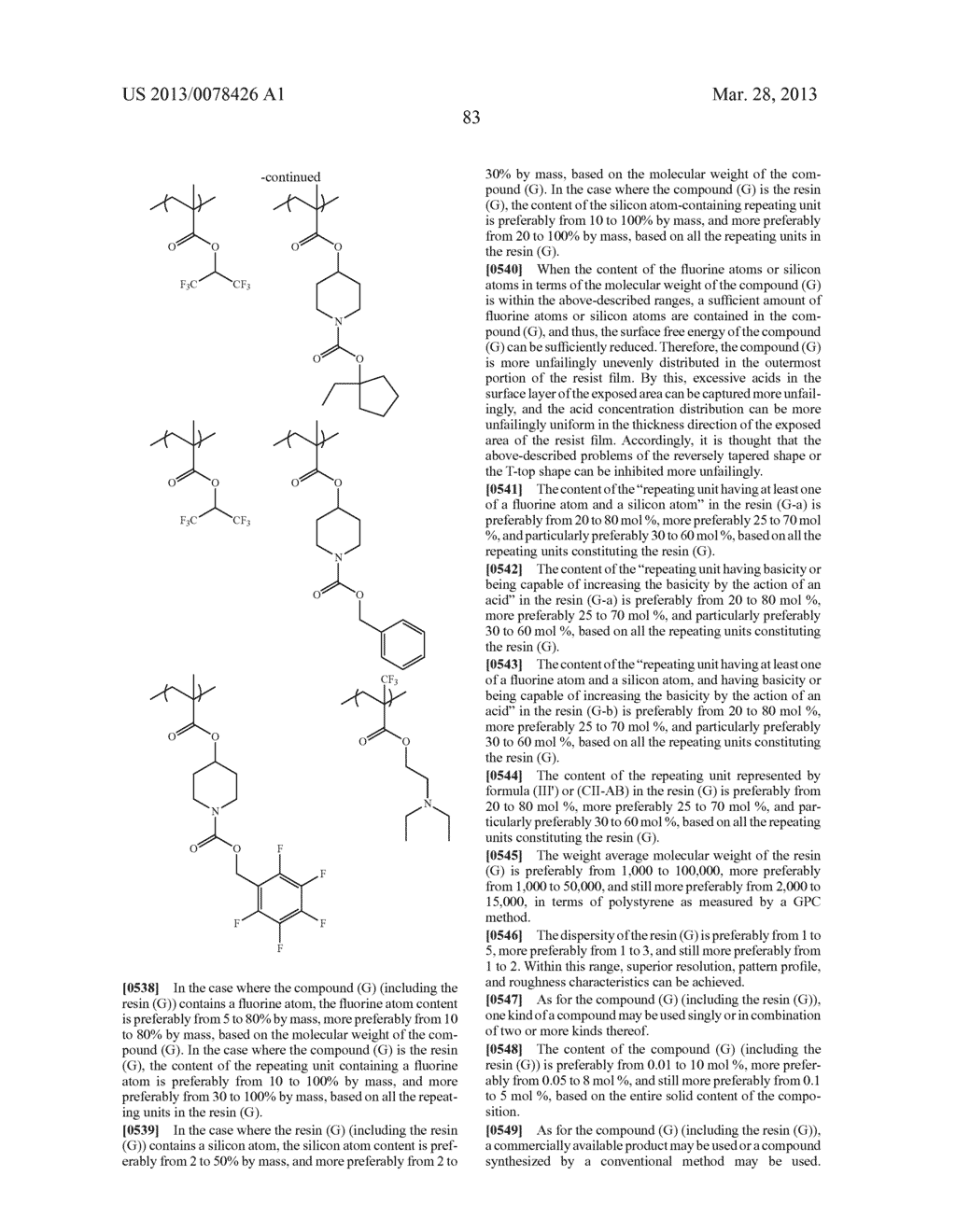 ACTINIC RAY-SENSITIVE OR RADIATION-SENSITIVE RESIN COMPOSITION, AND RESIST     FILM, PATTERN FORMING METHOD, METHOD FOR PREPARING ELECTRONIC DEVICE, AND     ELECTRONIC DEVICE, EACH USING THE SAME - diagram, schematic, and image 84