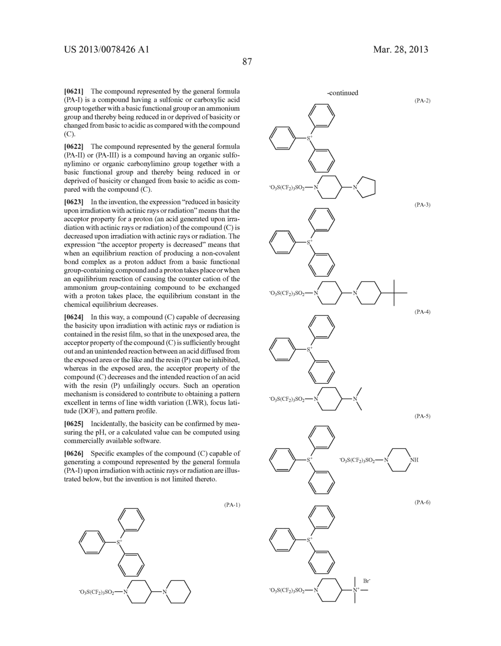 ACTINIC RAY-SENSITIVE OR RADIATION-SENSITIVE RESIN COMPOSITION, AND RESIST     FILM, PATTERN FORMING METHOD, METHOD FOR PREPARING ELECTRONIC DEVICE, AND     ELECTRONIC DEVICE, EACH USING THE SAME - diagram, schematic, and image 88