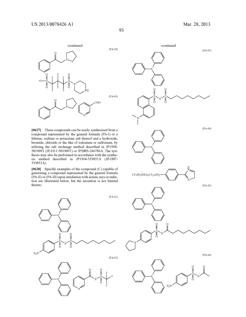 ACTINIC RAY-SENSITIVE OR RADIATION-SENSITIVE RESIN COMPOSITION, AND RESIST     FILM, PATTERN FORMING METHOD, METHOD FOR PREPARING ELECTRONIC DEVICE, AND     ELECTRONIC DEVICE, EACH USING THE SAME - diagram, schematic, and image 94