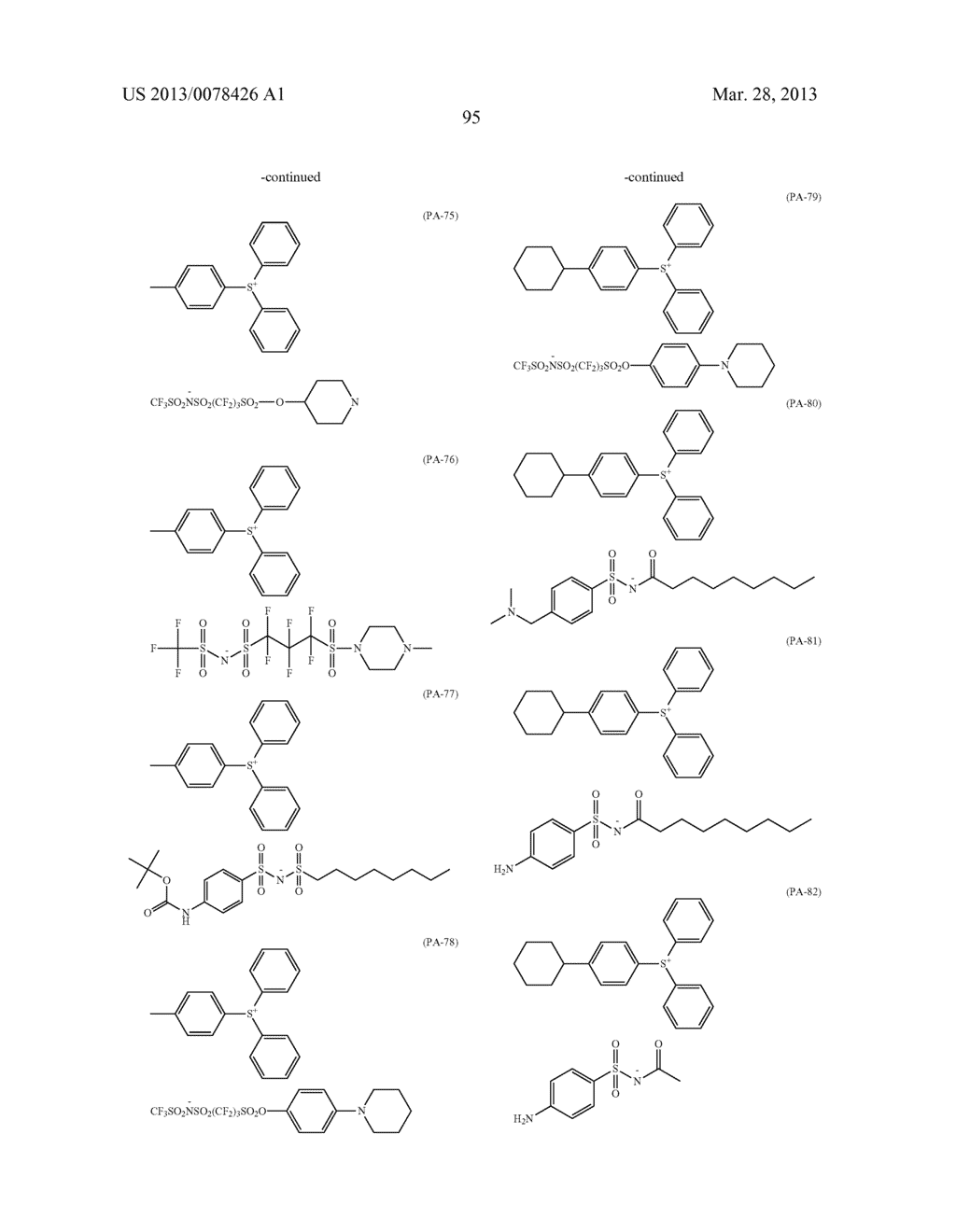 ACTINIC RAY-SENSITIVE OR RADIATION-SENSITIVE RESIN COMPOSITION, AND RESIST     FILM, PATTERN FORMING METHOD, METHOD FOR PREPARING ELECTRONIC DEVICE, AND     ELECTRONIC DEVICE, EACH USING THE SAME - diagram, schematic, and image 96