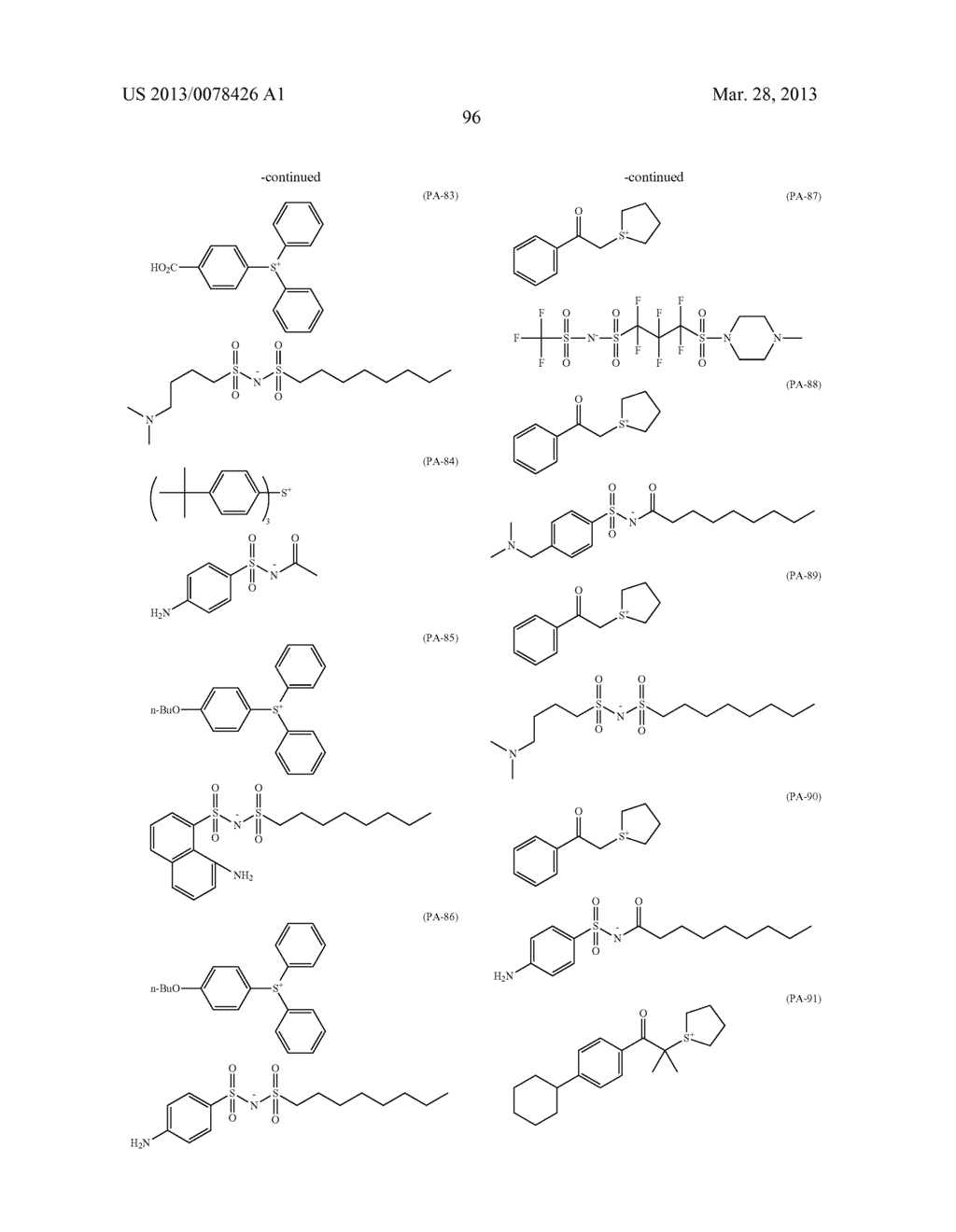 ACTINIC RAY-SENSITIVE OR RADIATION-SENSITIVE RESIN COMPOSITION, AND RESIST     FILM, PATTERN FORMING METHOD, METHOD FOR PREPARING ELECTRONIC DEVICE, AND     ELECTRONIC DEVICE, EACH USING THE SAME - diagram, schematic, and image 97