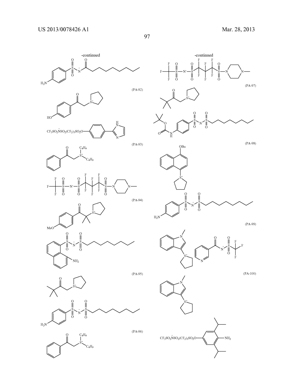 ACTINIC RAY-SENSITIVE OR RADIATION-SENSITIVE RESIN COMPOSITION, AND RESIST     FILM, PATTERN FORMING METHOD, METHOD FOR PREPARING ELECTRONIC DEVICE, AND     ELECTRONIC DEVICE, EACH USING THE SAME - diagram, schematic, and image 98