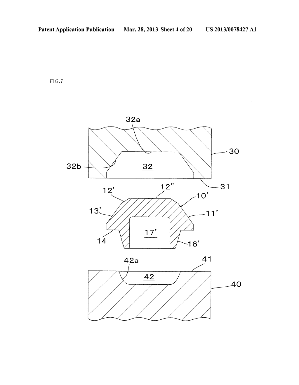 Metal Component and Method for Forming Metal Component - diagram, schematic, and image 05