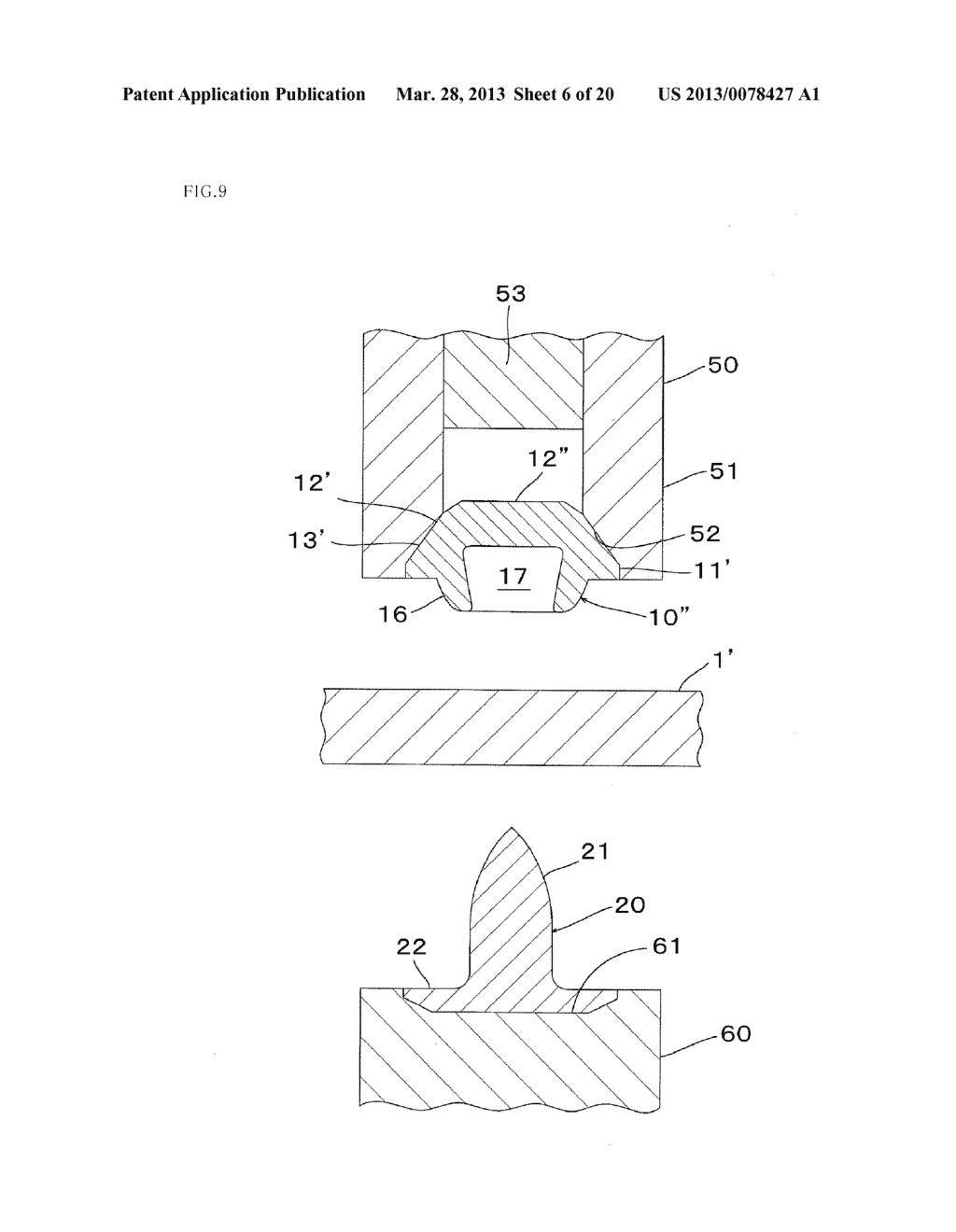 Metal Component and Method for Forming Metal Component - diagram, schematic, and image 07
