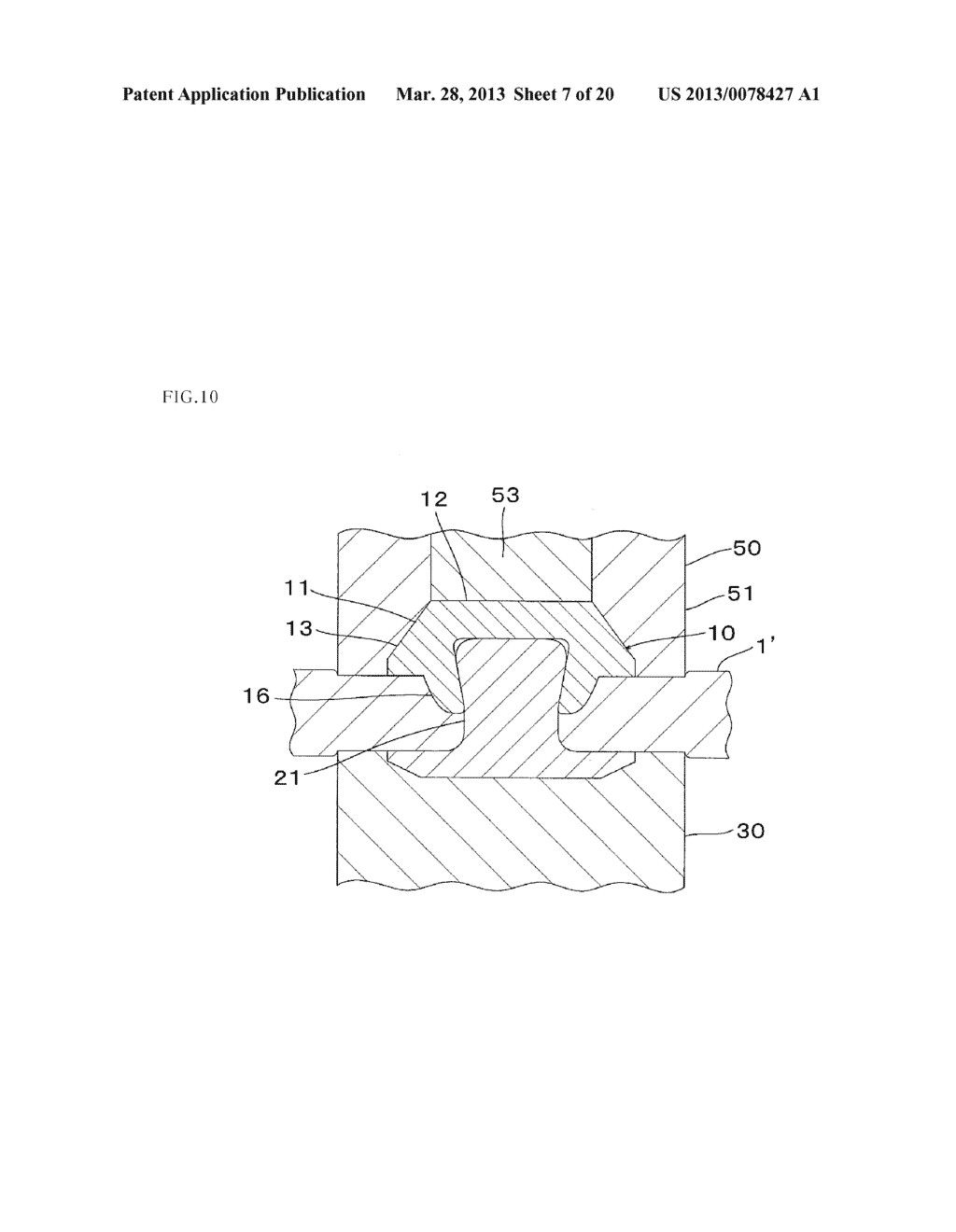 Metal Component and Method for Forming Metal Component - diagram, schematic, and image 08