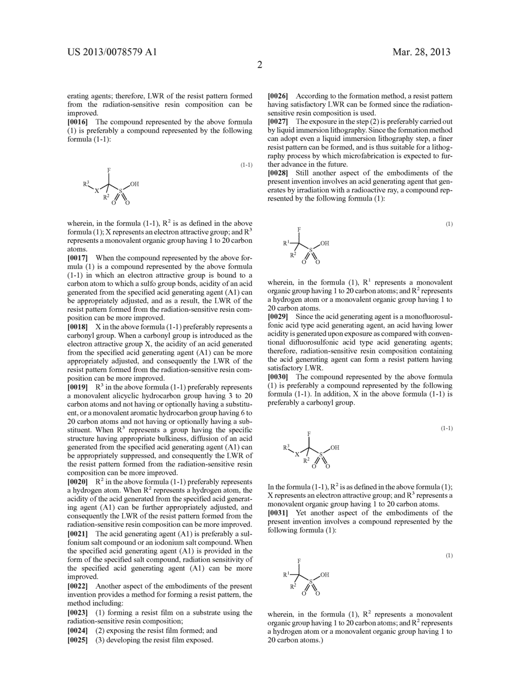 RADIATION-SENSITIVE RESIN COMPOSITION, METHOD FOR FORMING RESIST PATTERN,     ACID GENERATING AGENT AND COMPOUND - diagram, schematic, and image 03