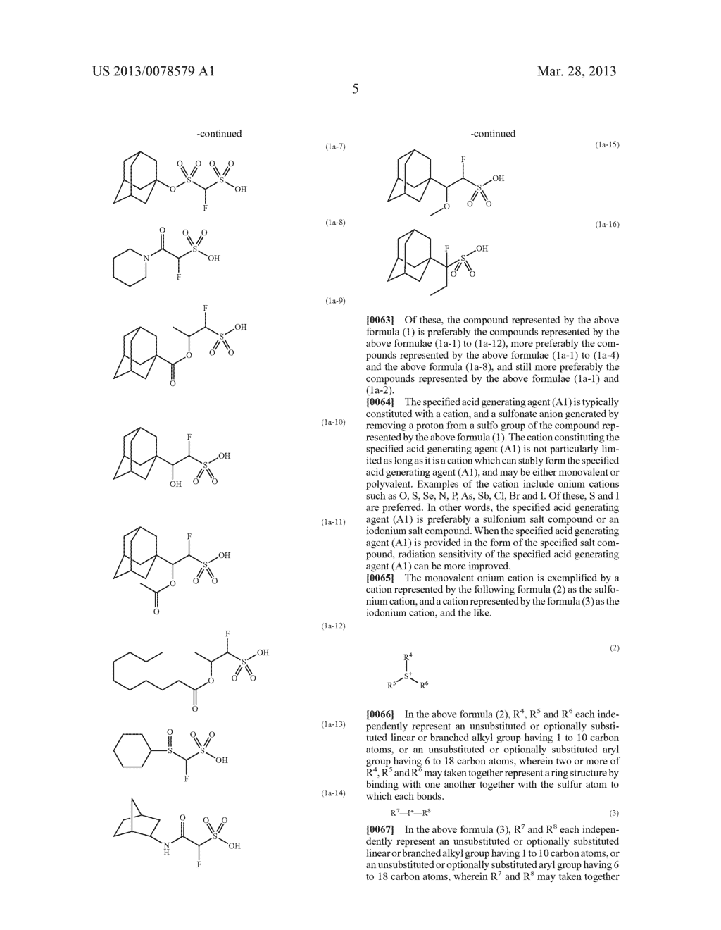 RADIATION-SENSITIVE RESIN COMPOSITION, METHOD FOR FORMING RESIST PATTERN,     ACID GENERATING AGENT AND COMPOUND - diagram, schematic, and image 06