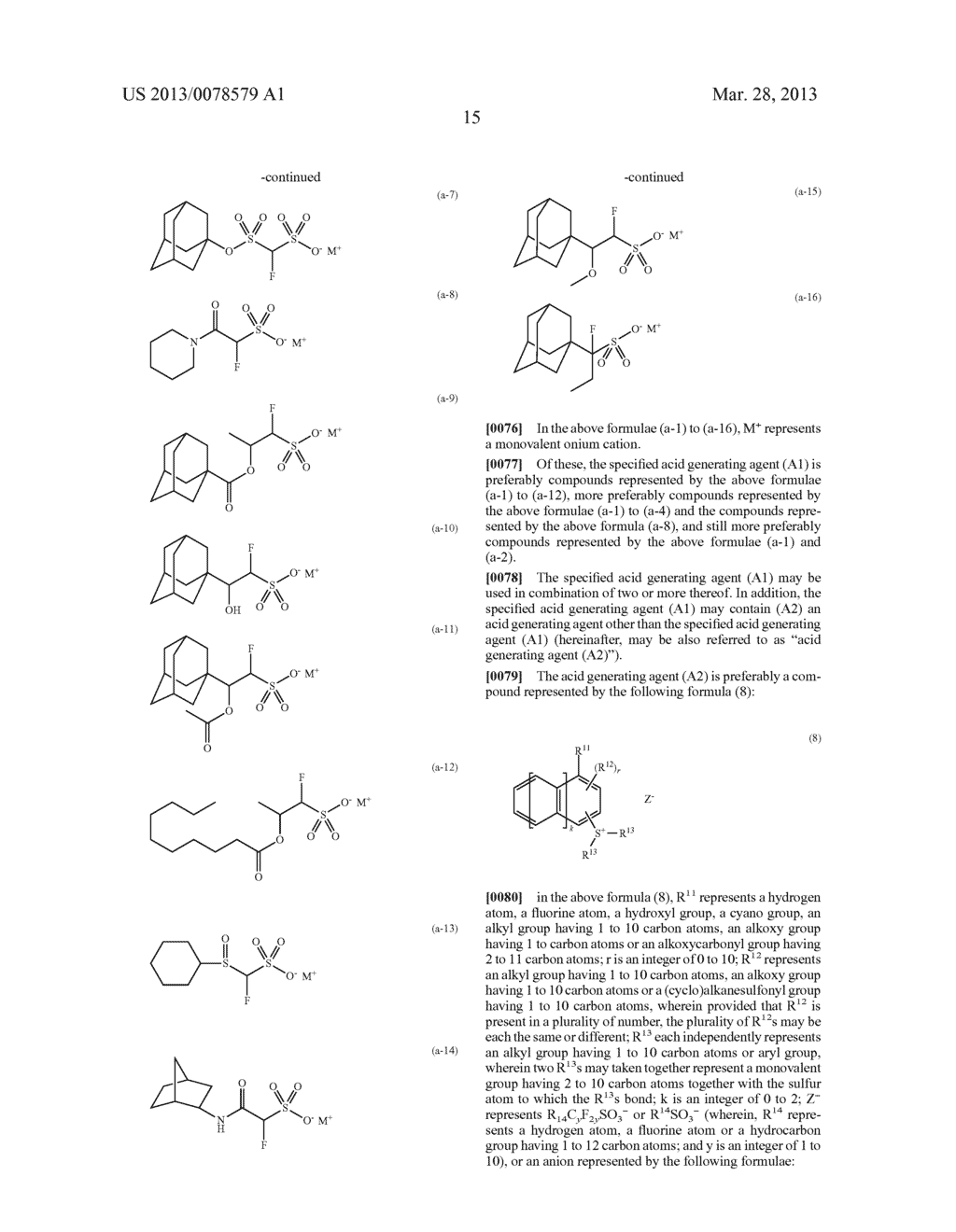 RADIATION-SENSITIVE RESIN COMPOSITION, METHOD FOR FORMING RESIST PATTERN,     ACID GENERATING AGENT AND COMPOUND - diagram, schematic, and image 16