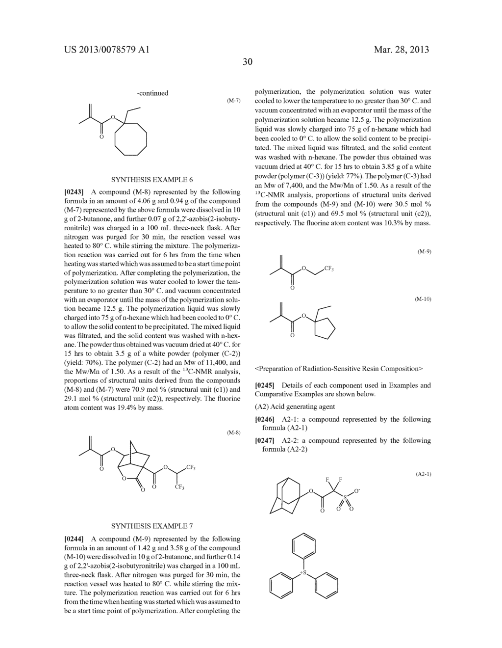 RADIATION-SENSITIVE RESIN COMPOSITION, METHOD FOR FORMING RESIST PATTERN,     ACID GENERATING AGENT AND COMPOUND - diagram, schematic, and image 31