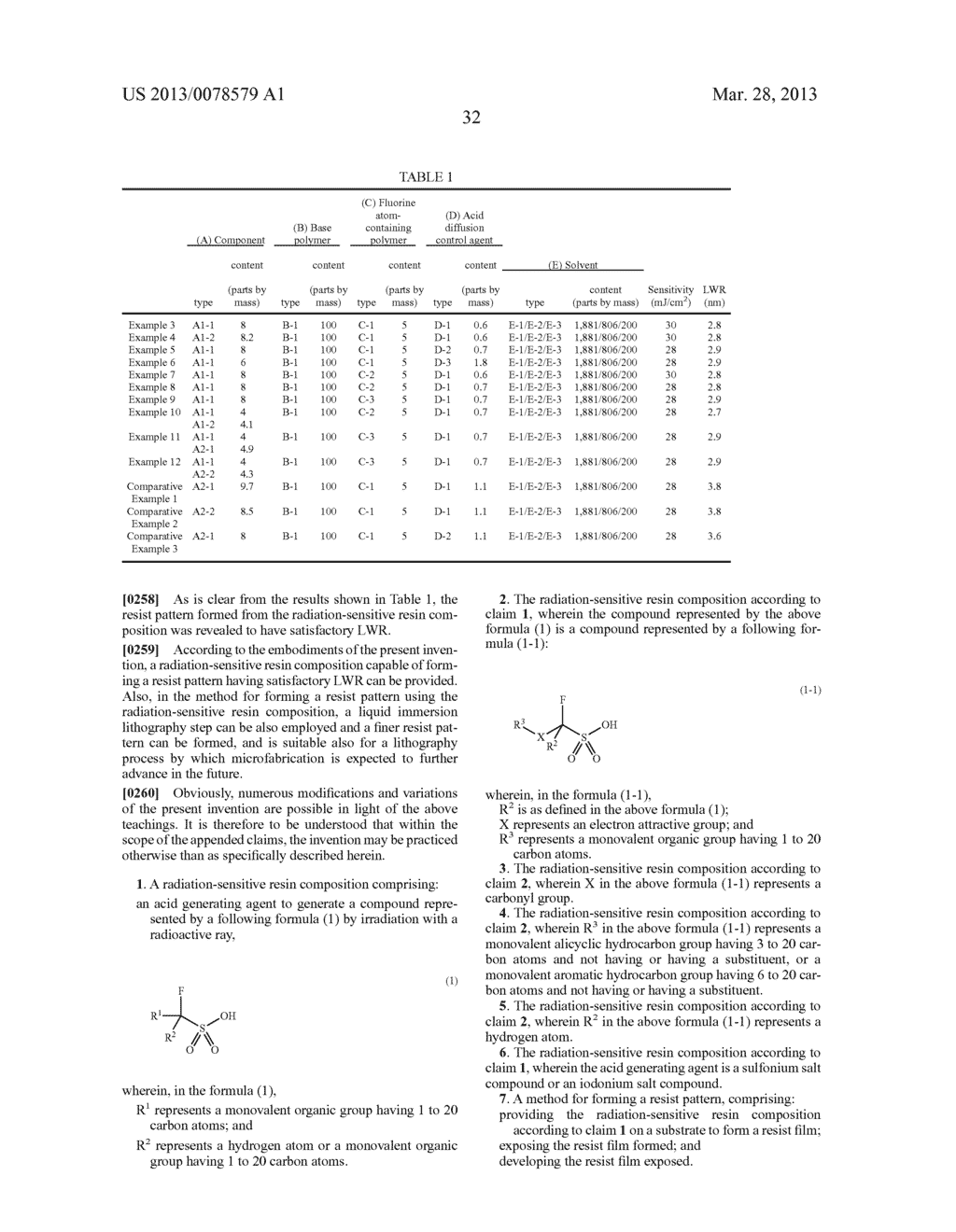 RADIATION-SENSITIVE RESIN COMPOSITION, METHOD FOR FORMING RESIST PATTERN,     ACID GENERATING AGENT AND COMPOUND - diagram, schematic, and image 33