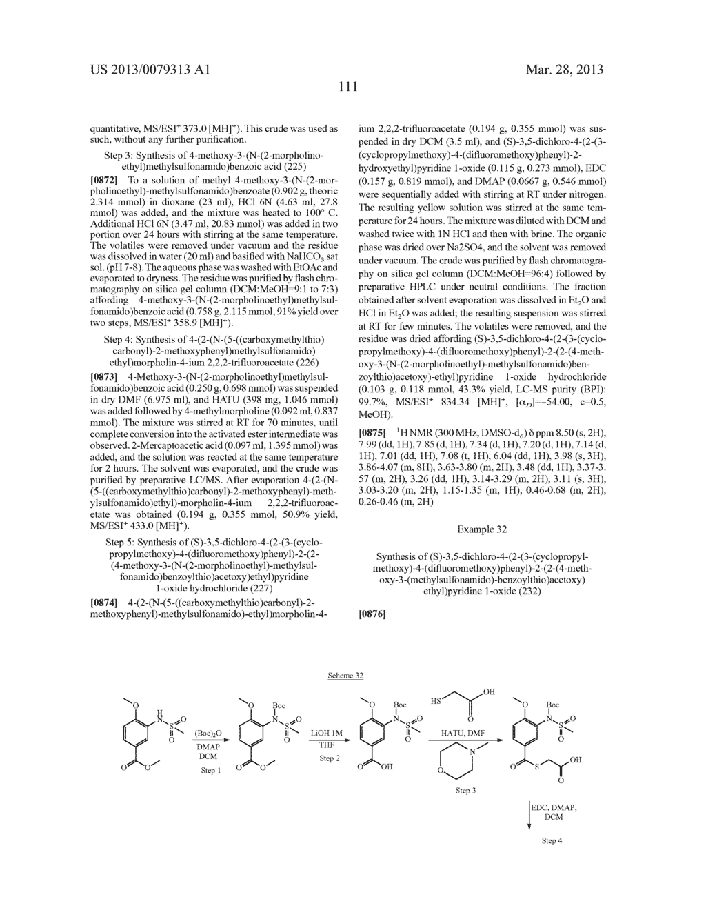 DERIVATIVES OF 1-PHENYL-2-PYRIDINYL ALKYL ALCOHOLS AS PHOSPHODIESTERASE     INHIBITORS - diagram, schematic, and image 112