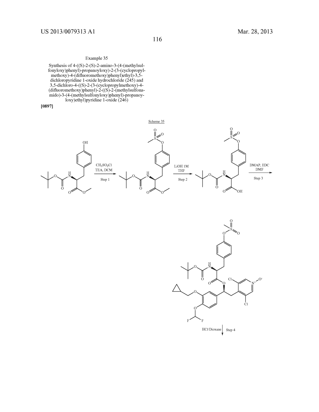 DERIVATIVES OF 1-PHENYL-2-PYRIDINYL ALKYL ALCOHOLS AS PHOSPHODIESTERASE     INHIBITORS - diagram, schematic, and image 117