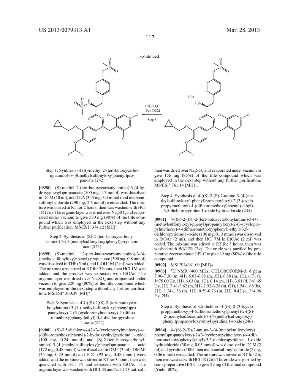 DERIVATIVES OF 1-PHENYL-2-PYRIDINYL ALKYL ALCOHOLS AS PHOSPHODIESTERASE     INHIBITORS - diagram, schematic, and image 118