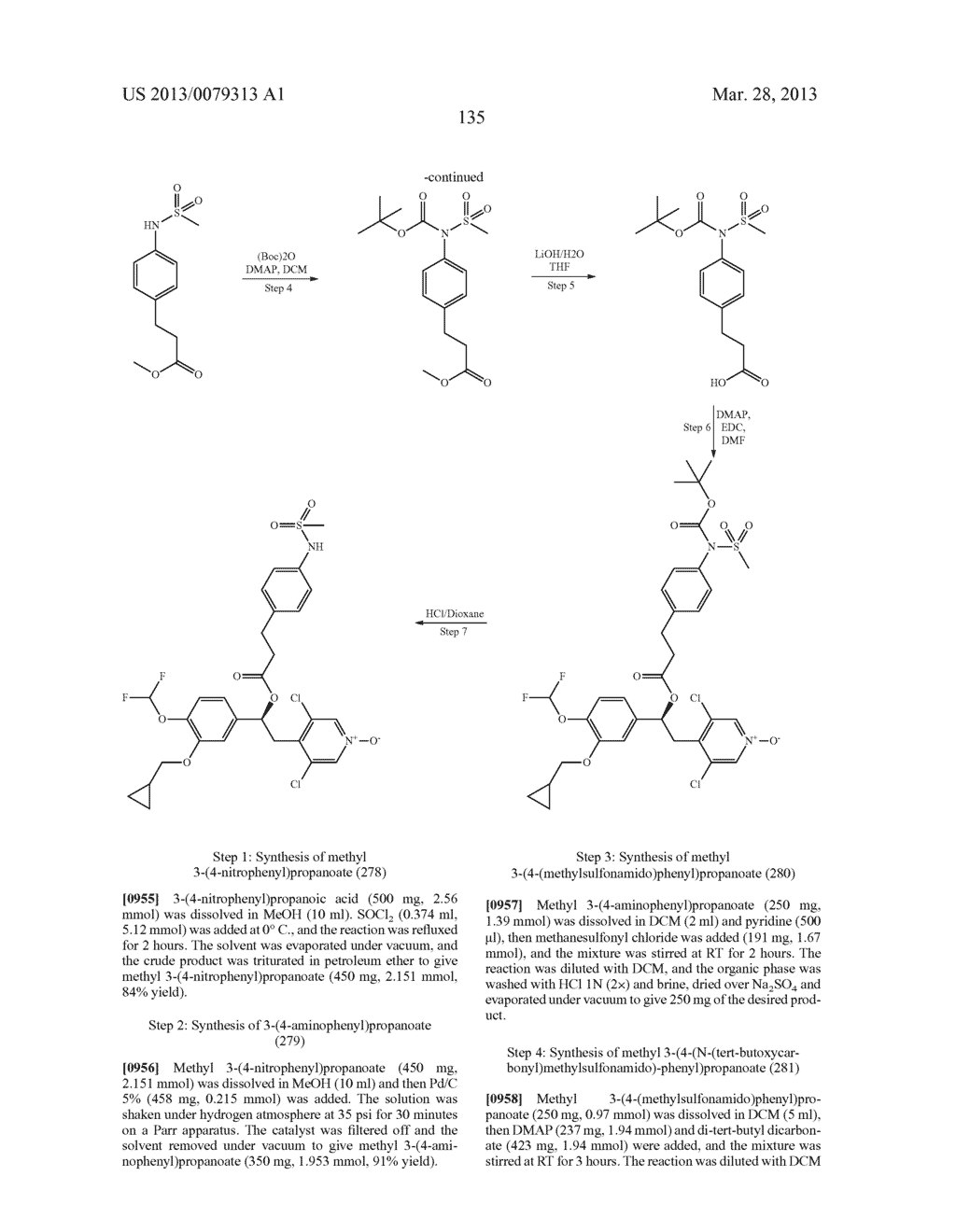 DERIVATIVES OF 1-PHENYL-2-PYRIDINYL ALKYL ALCOHOLS AS PHOSPHODIESTERASE     INHIBITORS - diagram, schematic, and image 136
