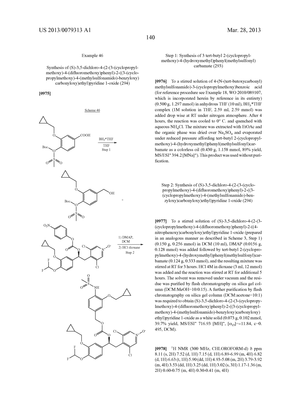 DERIVATIVES OF 1-PHENYL-2-PYRIDINYL ALKYL ALCOHOLS AS PHOSPHODIESTERASE     INHIBITORS - diagram, schematic, and image 141
