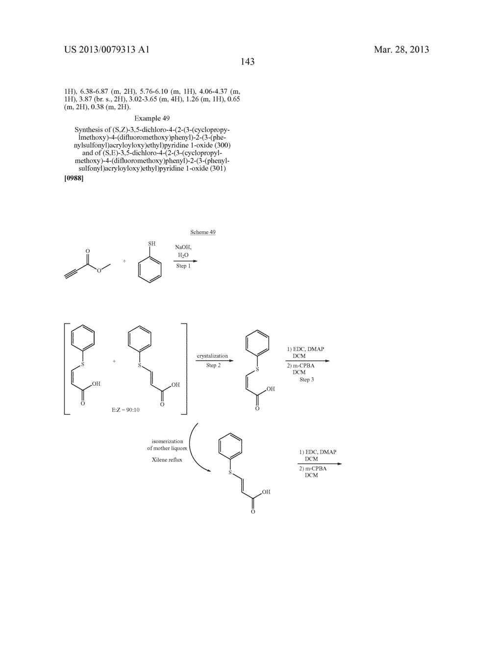 DERIVATIVES OF 1-PHENYL-2-PYRIDINYL ALKYL ALCOHOLS AS PHOSPHODIESTERASE     INHIBITORS - diagram, schematic, and image 144