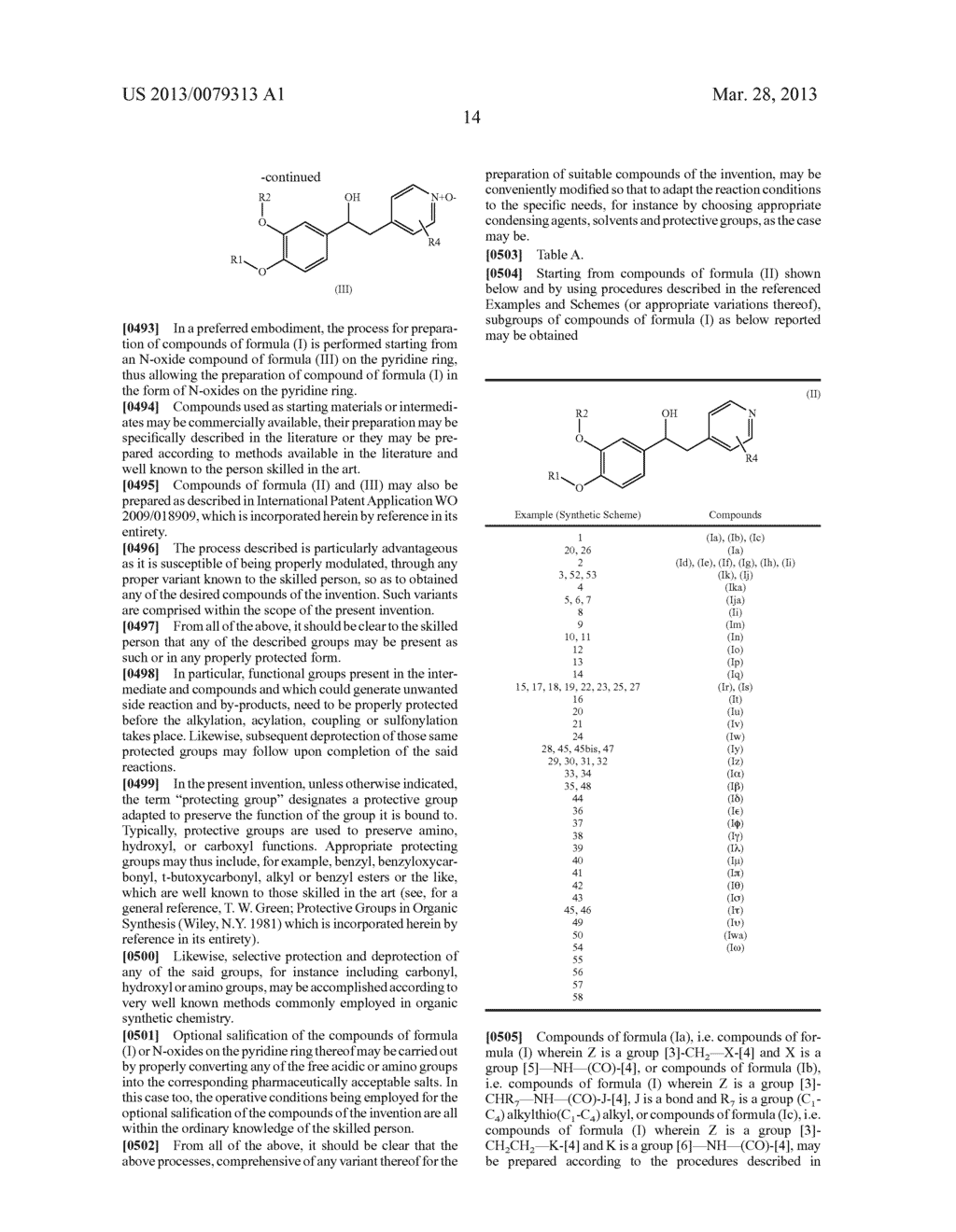 DERIVATIVES OF 1-PHENYL-2-PYRIDINYL ALKYL ALCOHOLS AS PHOSPHODIESTERASE     INHIBITORS - diagram, schematic, and image 15