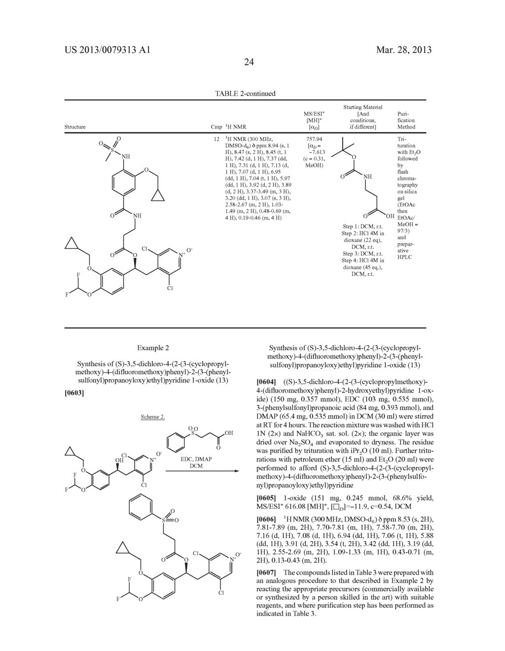 DERIVATIVES OF 1-PHENYL-2-PYRIDINYL ALKYL ALCOHOLS AS PHOSPHODIESTERASE     INHIBITORS - diagram, schematic, and image 25