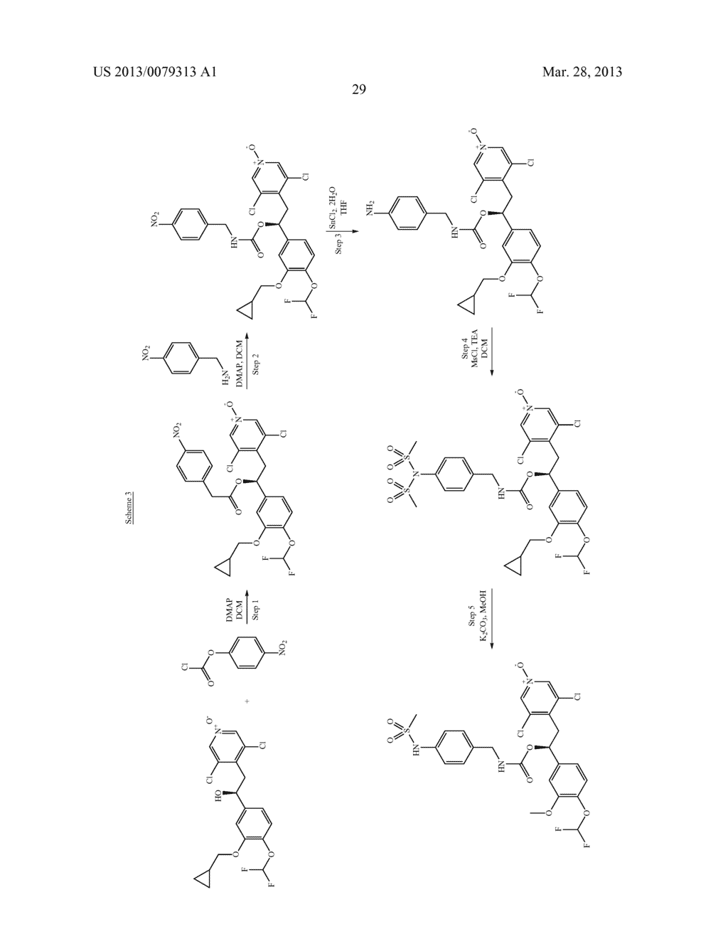 DERIVATIVES OF 1-PHENYL-2-PYRIDINYL ALKYL ALCOHOLS AS PHOSPHODIESTERASE     INHIBITORS - diagram, schematic, and image 30