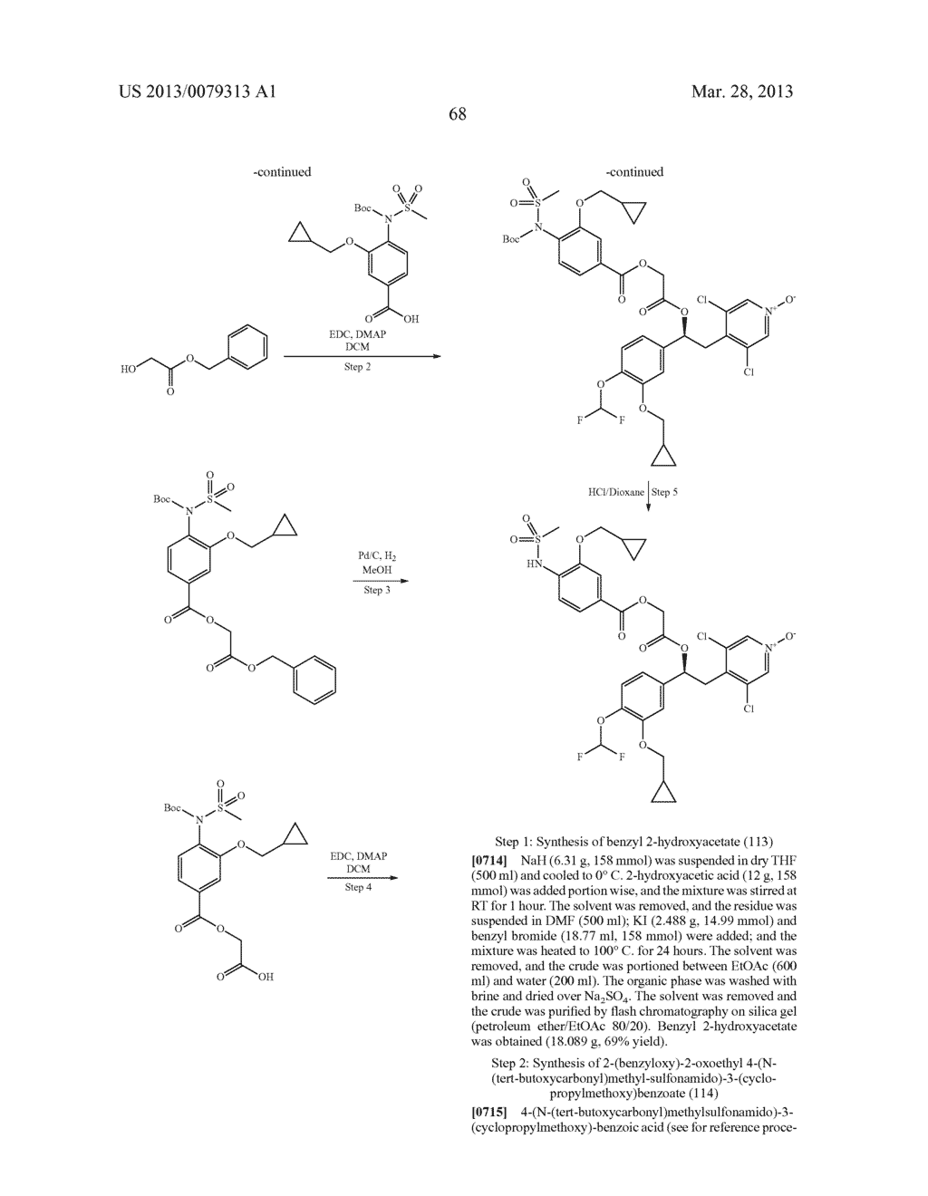 DERIVATIVES OF 1-PHENYL-2-PYRIDINYL ALKYL ALCOHOLS AS PHOSPHODIESTERASE     INHIBITORS - diagram, schematic, and image 69