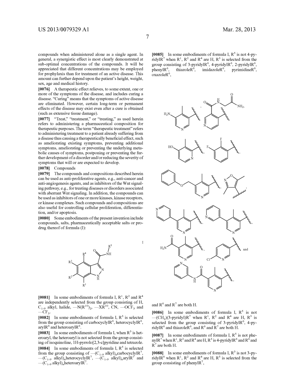 INDAZOLE-3-CARBOXAMIDES AND THEIR USE AS WNT/Beta-CATENIN SIGNALING     PATHWAY INHIBITORS - diagram, schematic, and image 08