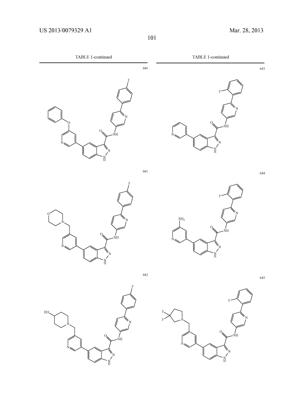 INDAZOLE-3-CARBOXAMIDES AND THEIR USE AS WNT/Beta-CATENIN SIGNALING     PATHWAY INHIBITORS - diagram, schematic, and image 102
