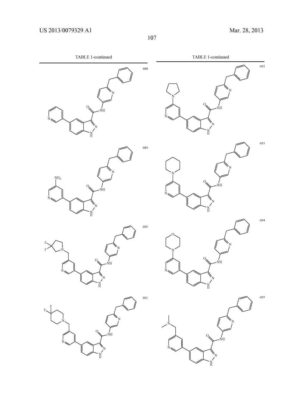 INDAZOLE-3-CARBOXAMIDES AND THEIR USE AS WNT/Beta-CATENIN SIGNALING     PATHWAY INHIBITORS - diagram, schematic, and image 108
