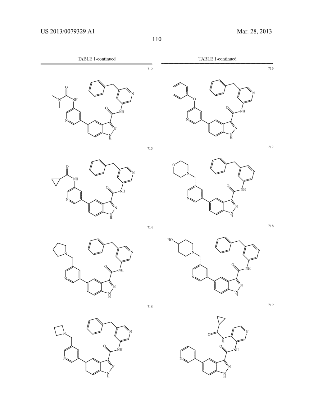 INDAZOLE-3-CARBOXAMIDES AND THEIR USE AS WNT/Beta-CATENIN SIGNALING     PATHWAY INHIBITORS - diagram, schematic, and image 111