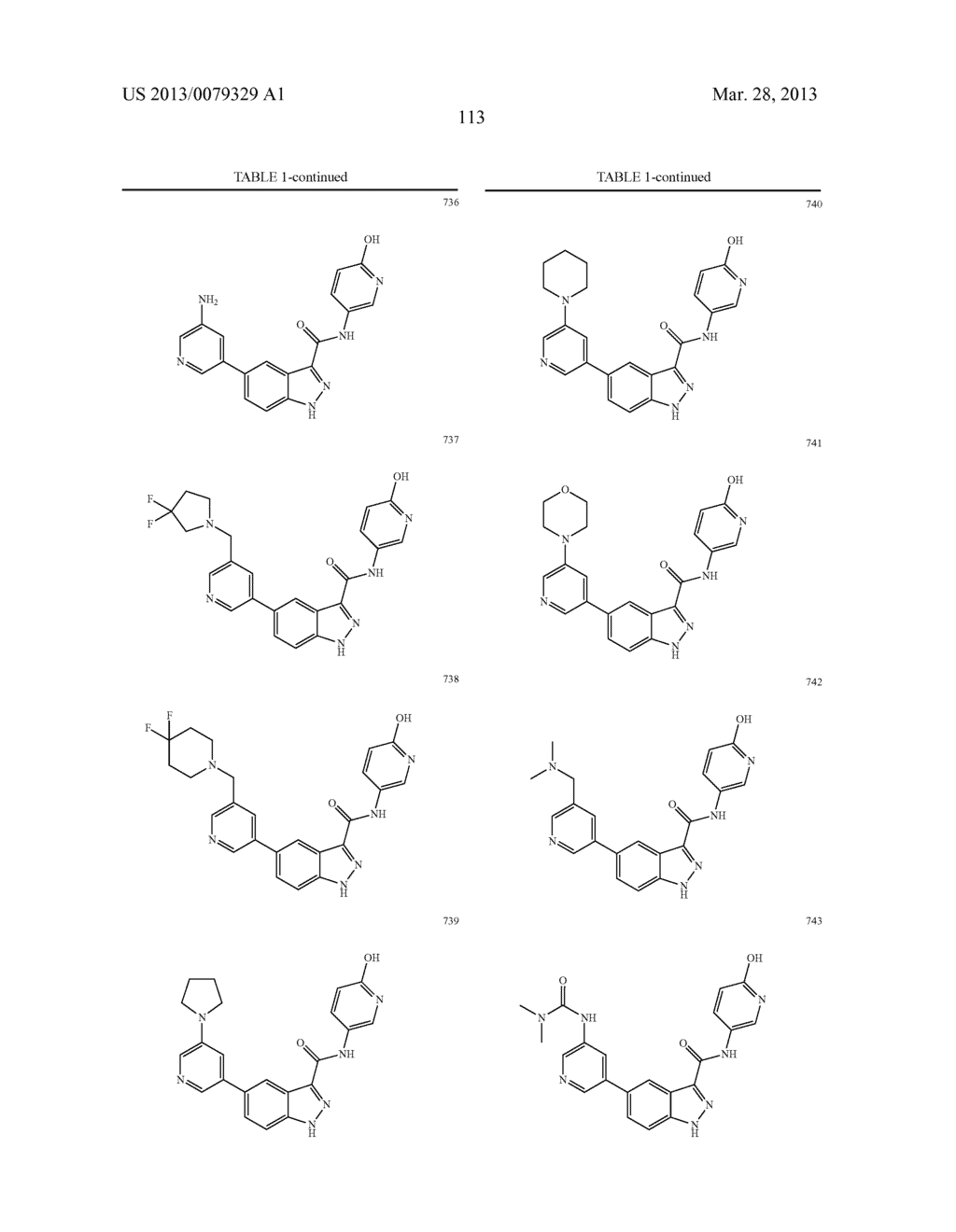 INDAZOLE-3-CARBOXAMIDES AND THEIR USE AS WNT/Beta-CATENIN SIGNALING     PATHWAY INHIBITORS - diagram, schematic, and image 114