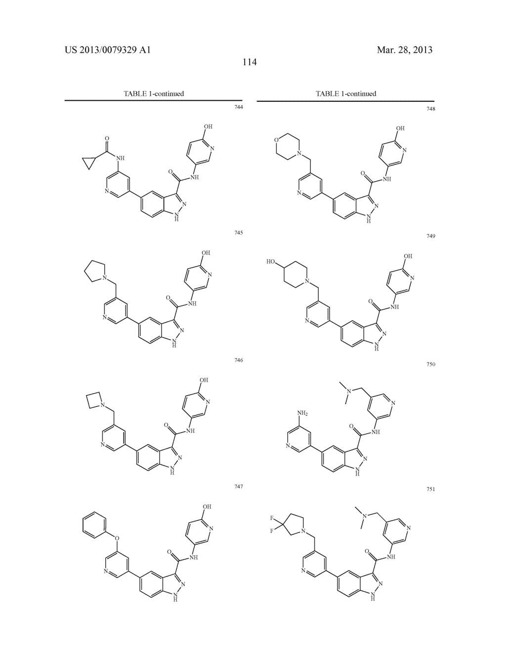 INDAZOLE-3-CARBOXAMIDES AND THEIR USE AS WNT/Beta-CATENIN SIGNALING     PATHWAY INHIBITORS - diagram, schematic, and image 115