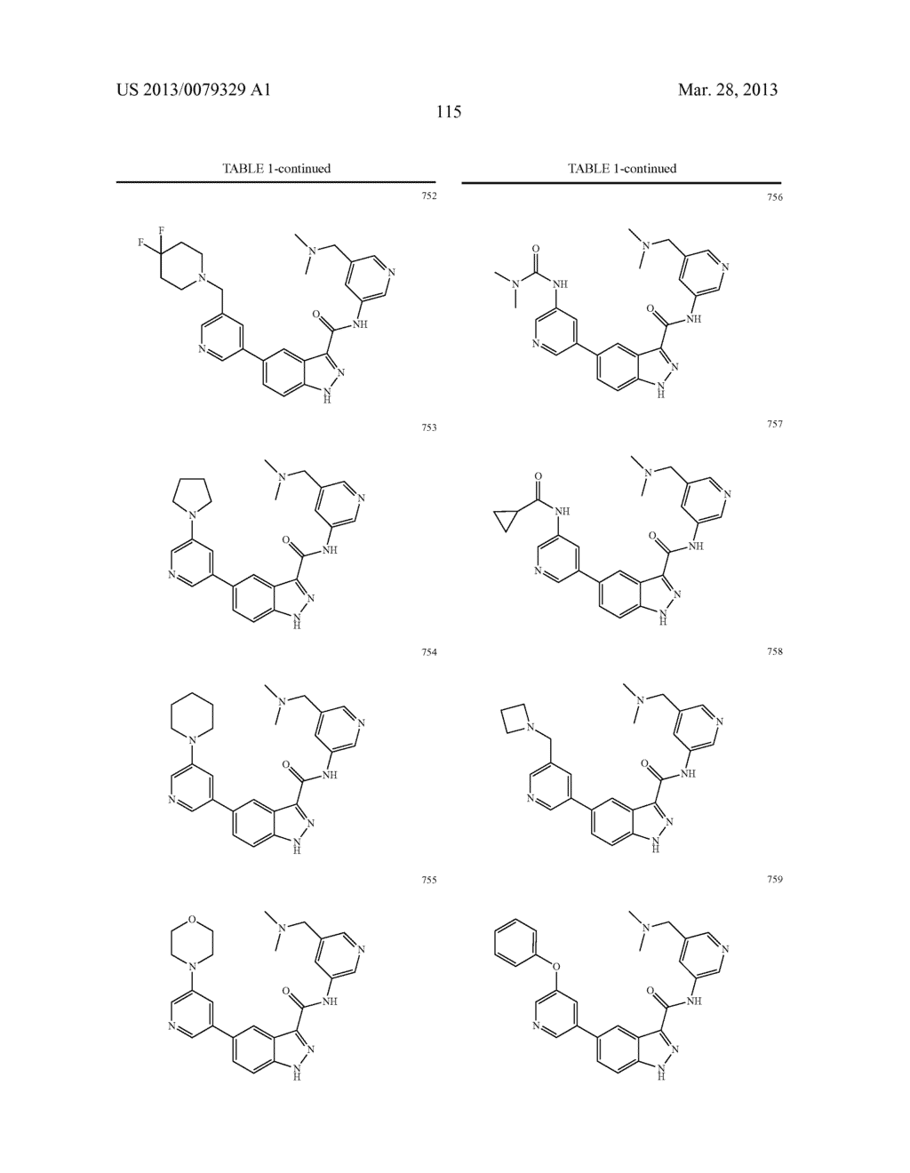 INDAZOLE-3-CARBOXAMIDES AND THEIR USE AS WNT/Beta-CATENIN SIGNALING     PATHWAY INHIBITORS - diagram, schematic, and image 116