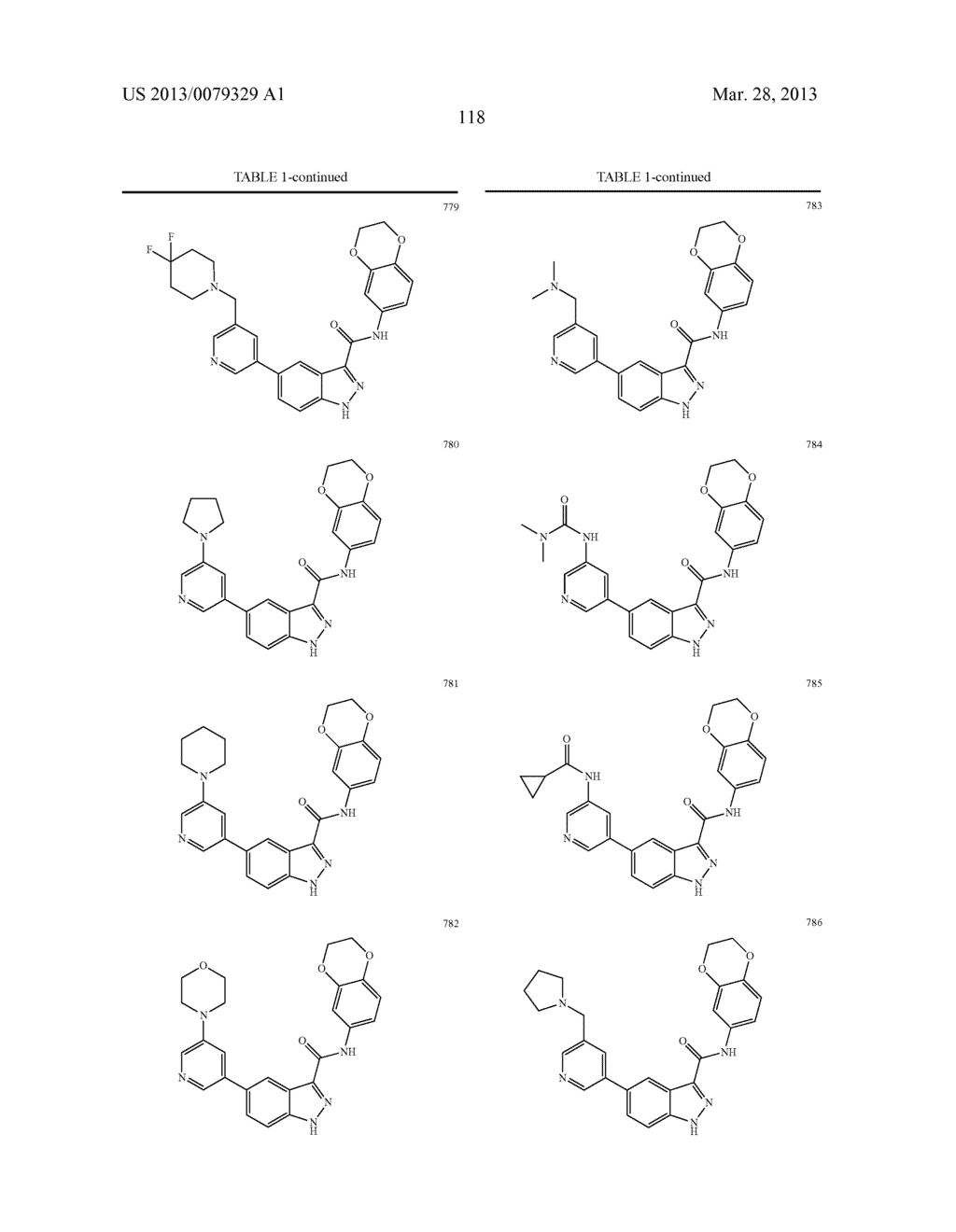 INDAZOLE-3-CARBOXAMIDES AND THEIR USE AS WNT/Beta-CATENIN SIGNALING     PATHWAY INHIBITORS - diagram, schematic, and image 119