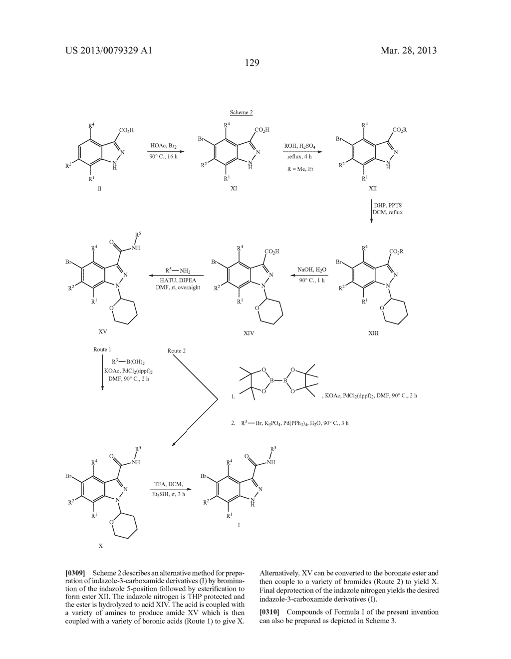 INDAZOLE-3-CARBOXAMIDES AND THEIR USE AS WNT/Beta-CATENIN SIGNALING     PATHWAY INHIBITORS - diagram, schematic, and image 130