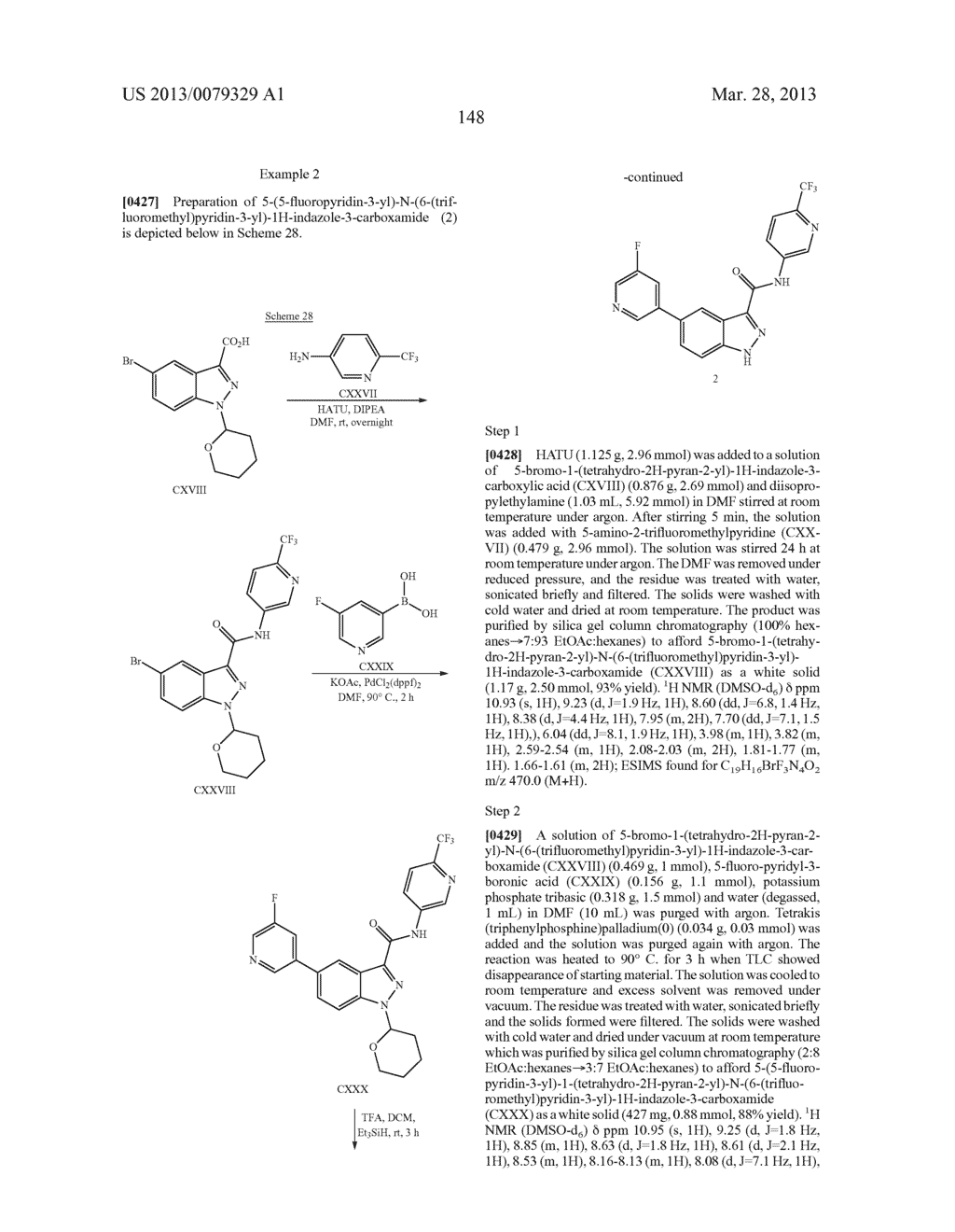 INDAZOLE-3-CARBOXAMIDES AND THEIR USE AS WNT/Beta-CATENIN SIGNALING     PATHWAY INHIBITORS - diagram, schematic, and image 149