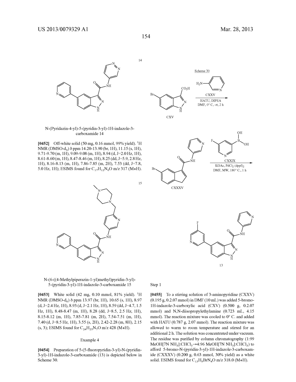INDAZOLE-3-CARBOXAMIDES AND THEIR USE AS WNT/Beta-CATENIN SIGNALING     PATHWAY INHIBITORS - diagram, schematic, and image 155