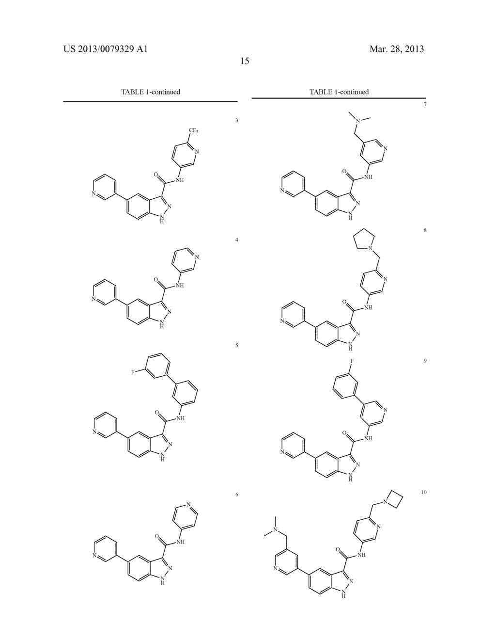 INDAZOLE-3-CARBOXAMIDES AND THEIR USE AS WNT/Beta-CATENIN SIGNALING     PATHWAY INHIBITORS - diagram, schematic, and image 16