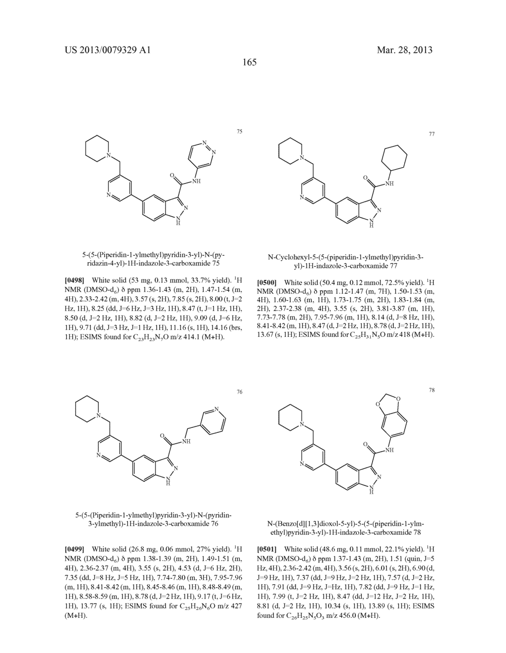 INDAZOLE-3-CARBOXAMIDES AND THEIR USE AS WNT/Beta-CATENIN SIGNALING     PATHWAY INHIBITORS - diagram, schematic, and image 166
