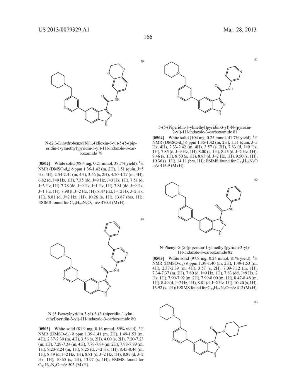 INDAZOLE-3-CARBOXAMIDES AND THEIR USE AS WNT/Beta-CATENIN SIGNALING     PATHWAY INHIBITORS - diagram, schematic, and image 167