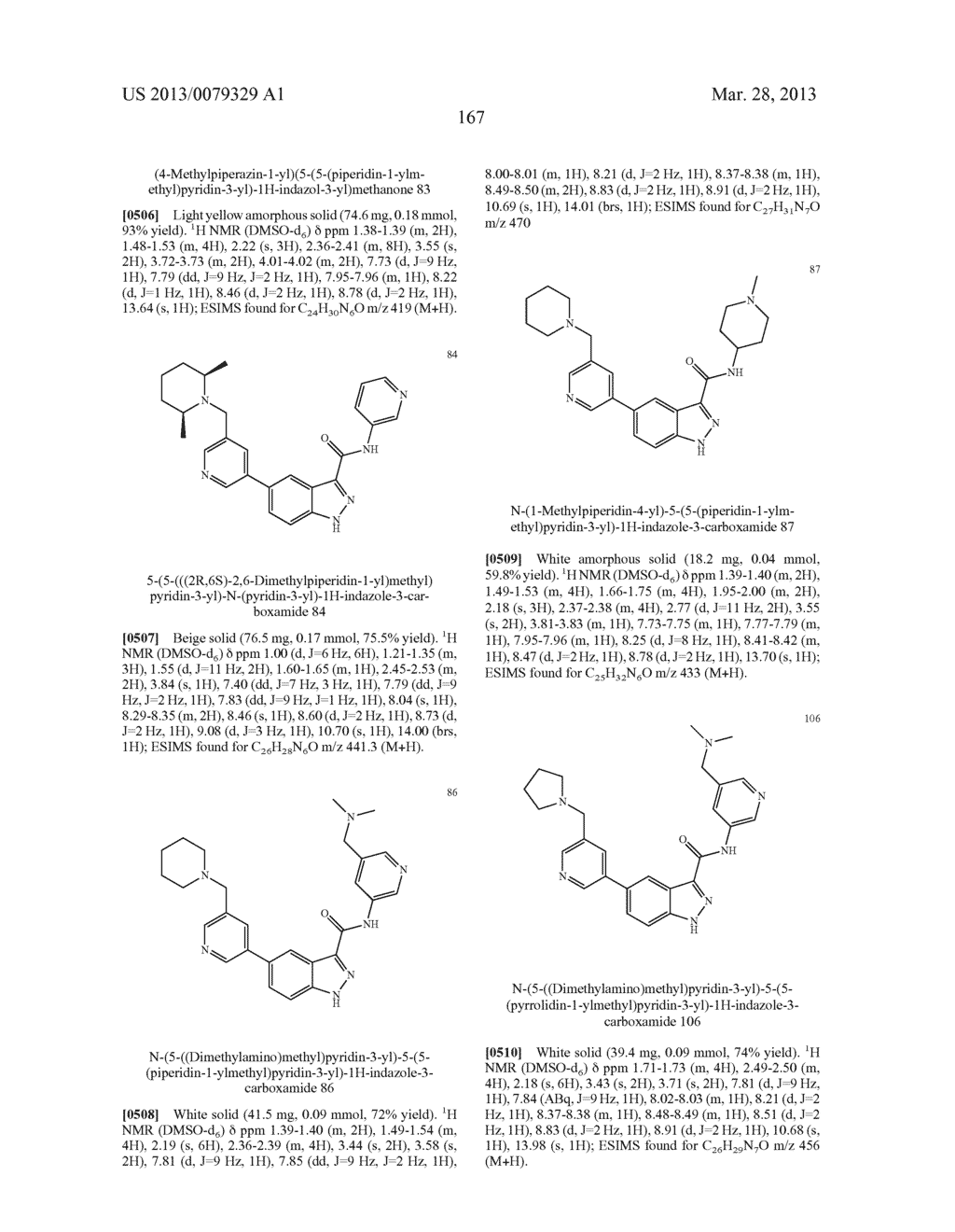 INDAZOLE-3-CARBOXAMIDES AND THEIR USE AS WNT/Beta-CATENIN SIGNALING     PATHWAY INHIBITORS - diagram, schematic, and image 168