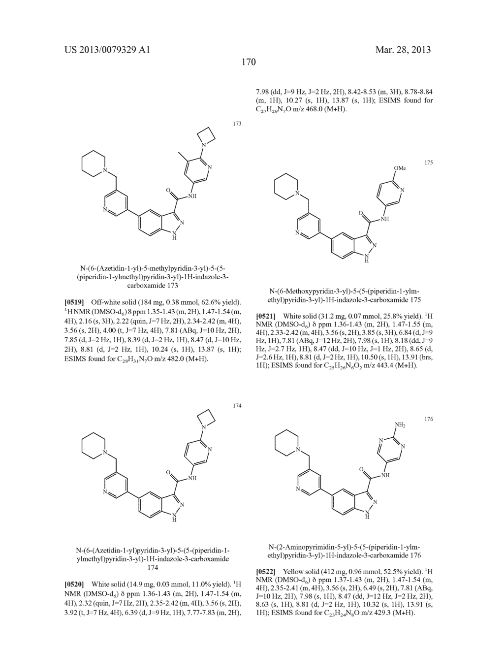INDAZOLE-3-CARBOXAMIDES AND THEIR USE AS WNT/Beta-CATENIN SIGNALING     PATHWAY INHIBITORS - diagram, schematic, and image 171