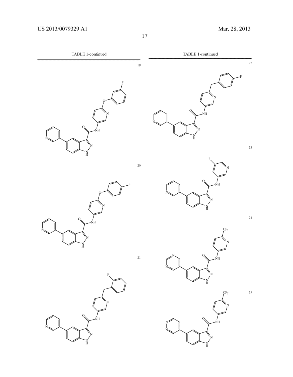 INDAZOLE-3-CARBOXAMIDES AND THEIR USE AS WNT/Beta-CATENIN SIGNALING     PATHWAY INHIBITORS - diagram, schematic, and image 18