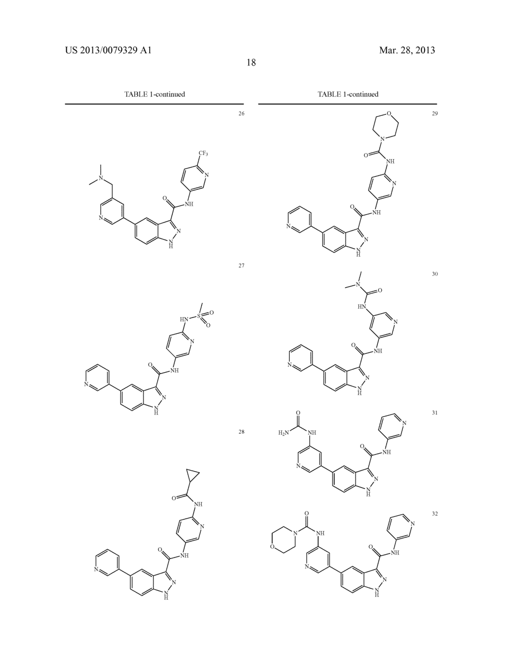 INDAZOLE-3-CARBOXAMIDES AND THEIR USE AS WNT/Beta-CATENIN SIGNALING     PATHWAY INHIBITORS - diagram, schematic, and image 19