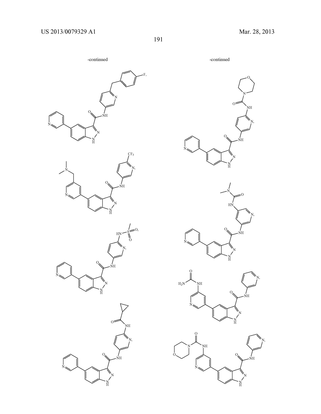 INDAZOLE-3-CARBOXAMIDES AND THEIR USE AS WNT/Beta-CATENIN SIGNALING     PATHWAY INHIBITORS - diagram, schematic, and image 192