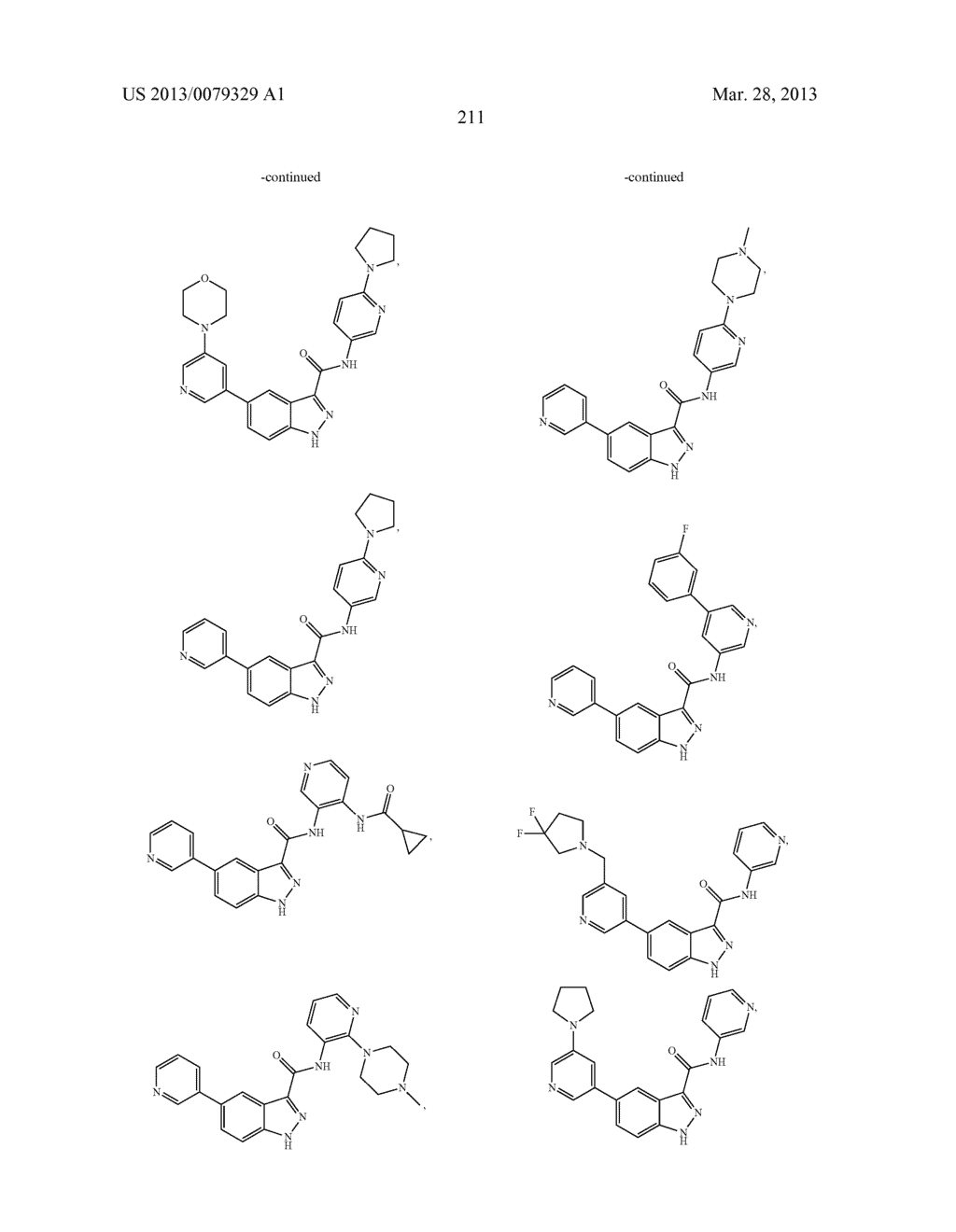 INDAZOLE-3-CARBOXAMIDES AND THEIR USE AS WNT/Beta-CATENIN SIGNALING     PATHWAY INHIBITORS - diagram, schematic, and image 212