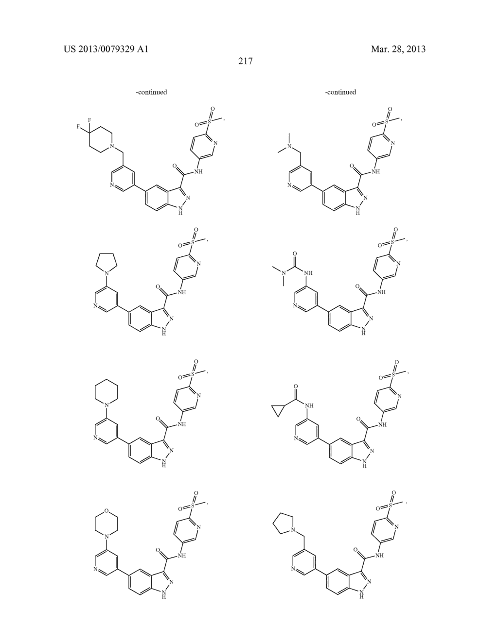 INDAZOLE-3-CARBOXAMIDES AND THEIR USE AS WNT/Beta-CATENIN SIGNALING     PATHWAY INHIBITORS - diagram, schematic, and image 218