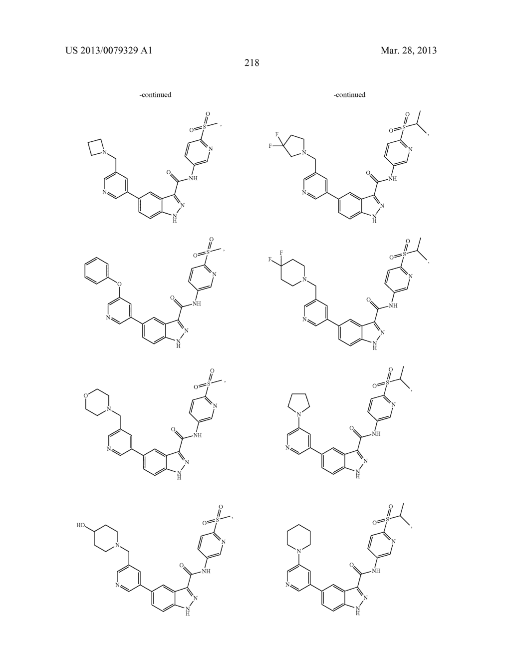 INDAZOLE-3-CARBOXAMIDES AND THEIR USE AS WNT/Beta-CATENIN SIGNALING     PATHWAY INHIBITORS - diagram, schematic, and image 219